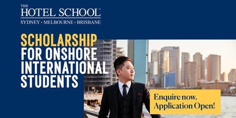 The Hotel School Melbourne Scholarships Open Day tickets
