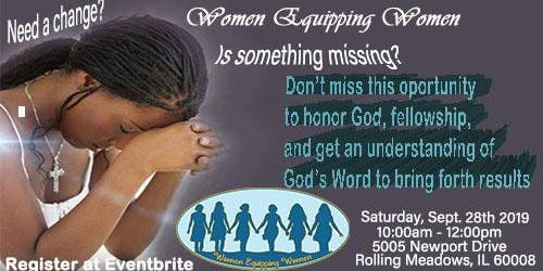 Women Equipping Women Monthly Meeting
