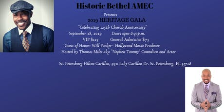 2019 Heritage Gala presented by  Historic Bethel AME Church of St. Petersburg tickets