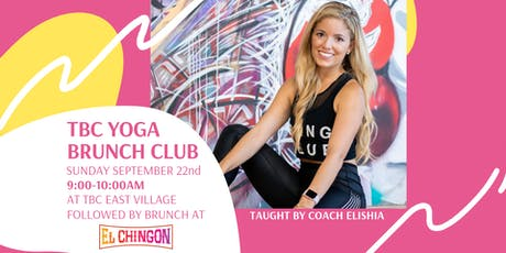 TBC Yoga Brunch Club tickets