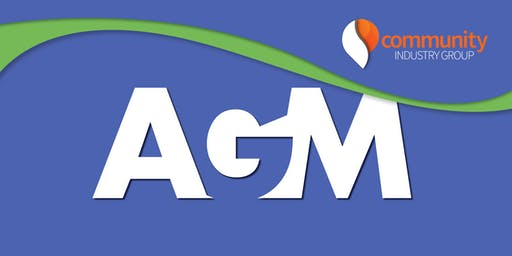 Community Industry Group AGM 2019