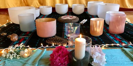 Healing Crystal Bowl Sound Bath tickets