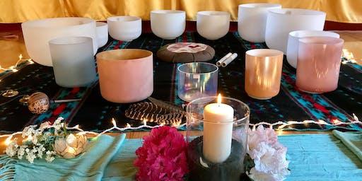 Healing Crystal Bowl Sound Bath