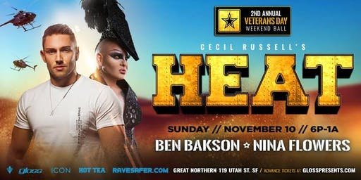 Heat Veterans Ball ft. Ben Bakson & Nina Flowers