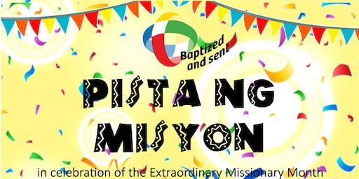 """PISTA NG MISYON""  Extraordinary Missionary Month"