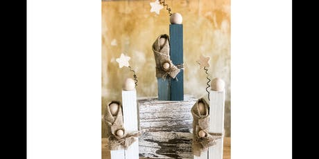 Wood Nativity Set tickets