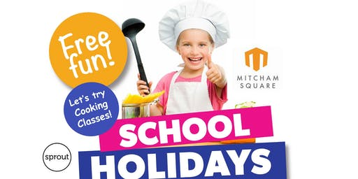 Free Sprout Cooking Class for Kids at Mitcham Square