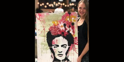 Frida Kahlo Paint and Sip Brisbane 23.11.19
