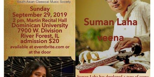Suman Laha Veena Recital with Hindole Majumdar, tabla