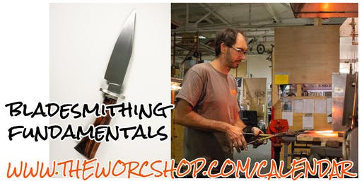 Bladesmithing Fundamentals with Josh Swalec 11.2.19