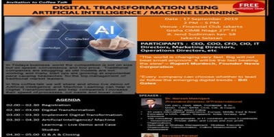 DIGITAL TRANSFORMATION USING
