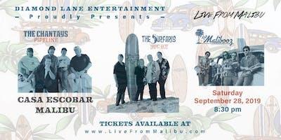 The Surfaris & The Chantays, The Malibooz Saturday, Sept 28