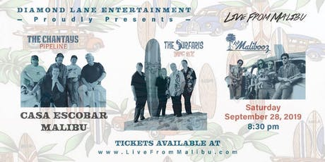 The Surfaris & The Chantays, The Malibooz Saturday, Sept 28 tickets