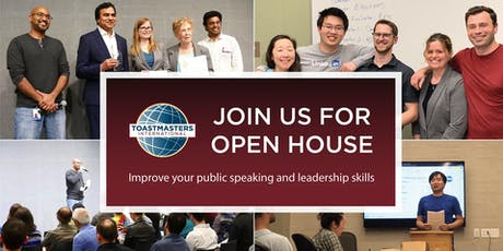 Public Speaking and Leadership - Talking Heads Toastmasters tickets