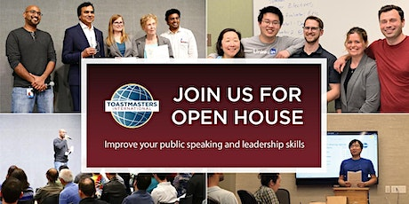 Learn about Public Speaking @ Talking Heads Toastmasters tickets