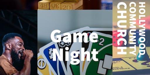 Game Night/ Open Mic