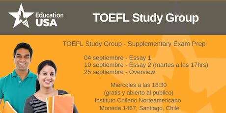 TOEFL Study Group Septiembre tickets
