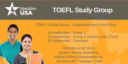 TOEFL Study Group Septiembre