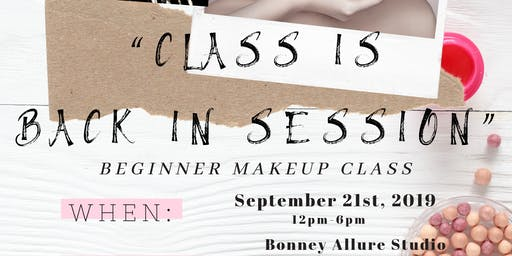 Bonney Allure Beginner Makeup Class