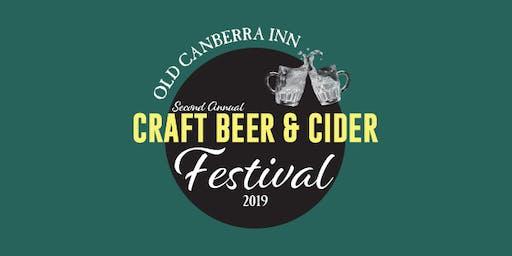 Old Canberra Inn Craft Beer & Cider Festival 2019