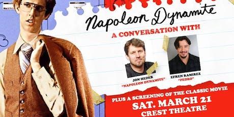 Napoleon Dynamite: A Conversation with Jon Heder & Efren Ramirez tickets