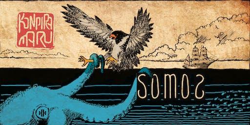 Konpira Maru and SOMOS Wines Party and Vino Scene