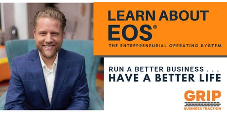 Learn About EOS - The Entrepreneurial Operating System - Owosso tickets
