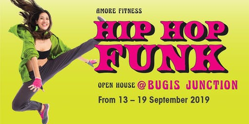 HIP HOP FUNKY DISCO OPENHOUSE @ AMORE FITNESS