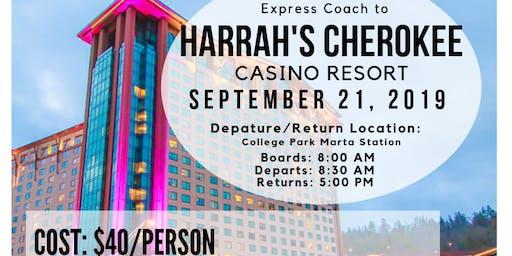 Express Coach To Harrah's Cherokee Casino Resort