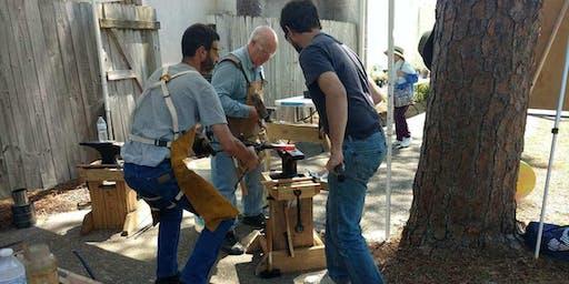 Blacksmithing with FABA September 28, 2019