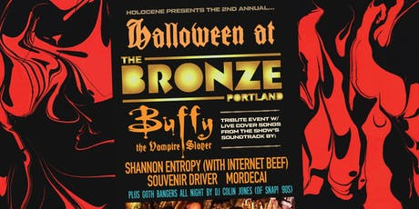 Halloween at the Bronze: Buffy the Vampire Slayer  Tribute Party tickets