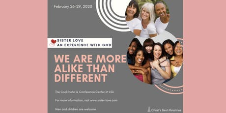 Sister Love 2020 : We Are More Alike Than Different tickets