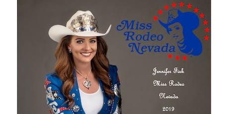 Jennifer Fisk Miss Rodeo Nevada 2019 Fundraiser tickets