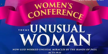 Unusual Woman Conference tickets