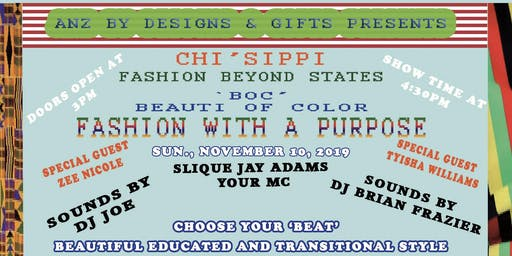 Chi'Sippi ~ Fashion With a Purpose