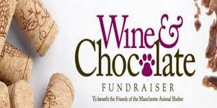 Wine & Chocolate Fundraiser, Manchester Animal Shelter