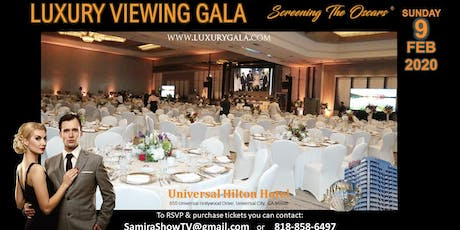 Luxury Viewing Gala 2020 -Screening the Oscars tickets
