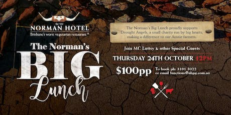 Norman's Big Lunch | Supporting Drought Angels tickets