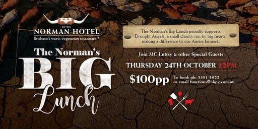 Norman's Big Lunch | Supporting Drought Angels