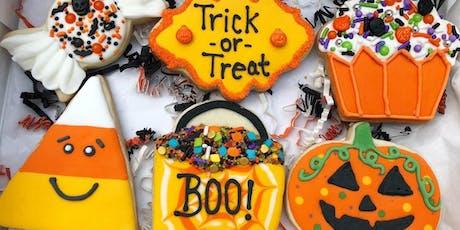 Leesburg- Halloween Cookie Decorating Class  tickets