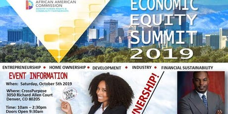 2nd Annual Denver Economic Equity Summit tickets