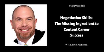 Negotiation Skills: The Missing Ingredient to Content Career Success