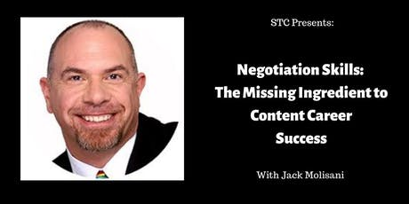 Negotiation Skills: The Missing Ingredient to Content Career Success tickets