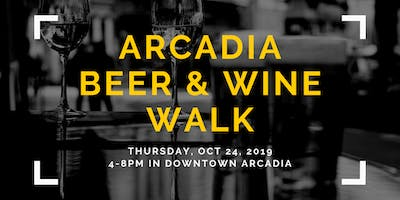 Arcadia Beer & Wine Walk