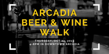 Arcadia Beer & Wine Walk tickets