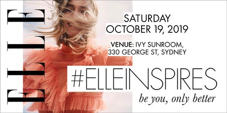 #ELLEINSPIRES: be you, only better tickets