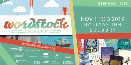 Wordstock Sudbury Literary Festival 6th Edition tickets