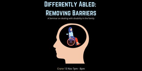 Differently Abled: Removing Barriers For People with Disability tickets