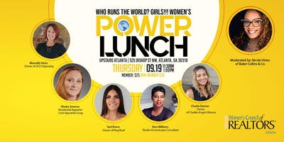 Who Runs the World? Girls! Women's Power Lunch