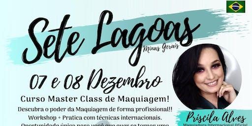 MASTER CLASS DE MAQUIAGEM - SETE LAGOAS MG
